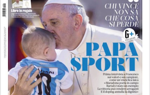 INTERVISTA DI PAPA FRANCESCO